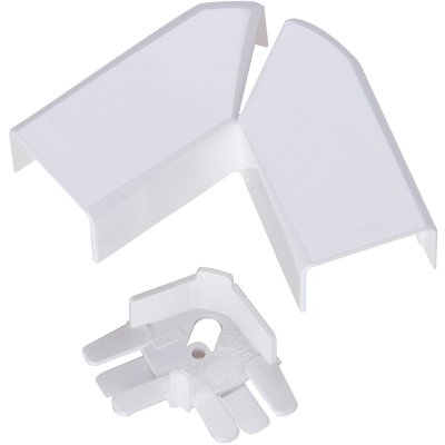Angle plat pour moulure électrique DLPlus - Variable