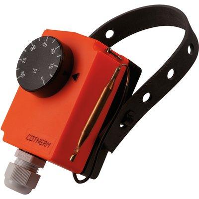 Thermostat Aquastat d'applique - Température 0 à 90°C