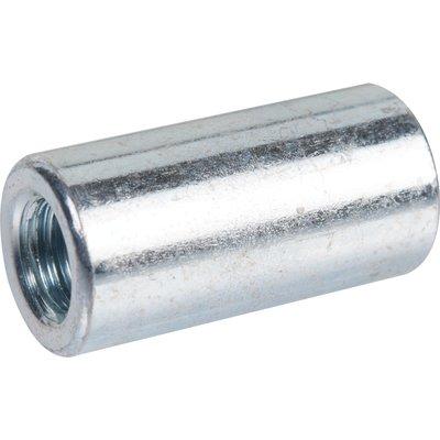 Manchon taraudé zingué - Ø 6 mm - 20 mm - Boîte de 100 pièces - Viswood