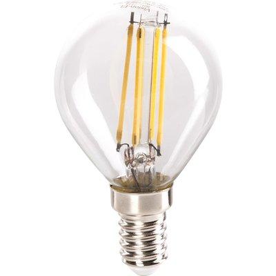 Ampoule LED à filament Sphérique - E14 - 4 W - 490 lm - 4000 K - Vision-EL