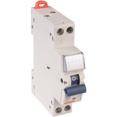 Disjoncteur à vis Ph+N - 4,5 kA - Cource C - 1 module