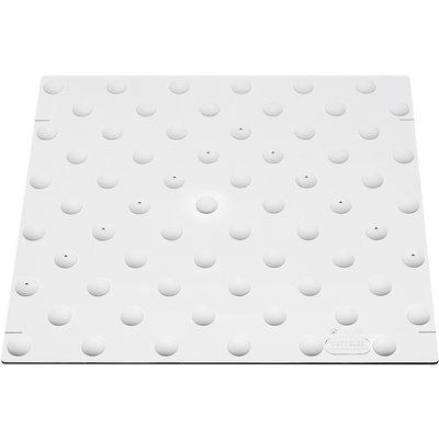 Dalle podotactile - Duval - A coller - Inox - 458X420