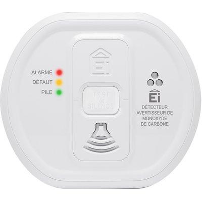 Détecteur de monoxyde de carbone Ei208W - Interconnexion sans fil - Autonom