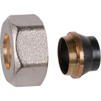 Raccord écrou de radiateur - Pour tube acier