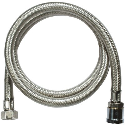 "Flexible inox gainé PVC standard - Femelle - Filetage 1/2"""