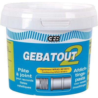 Pâte d'étanchéité Gebatout - Pour raccords filetés métalliques
