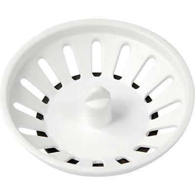 Panier de bonde pour plateau diamètre 114 mm - Blanc