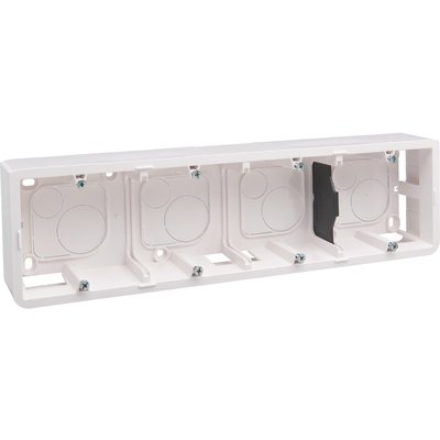 Cadre saillie pour 10 ou 4 x 2 modules horizontal Mosaic - Legrand