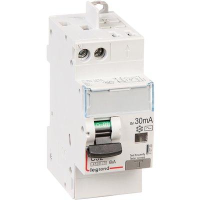 Disjoncteur différentiel DX³ 4500 - 6 kA courbe C - 32 A - Sensibilité 30 m