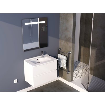 Meuble salle de bain complet Rosaly - 70 cm - Creazur