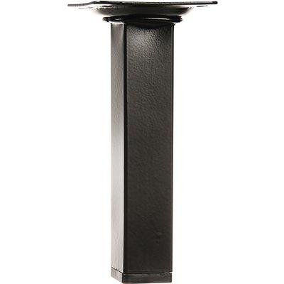 Pied carré en acier de table - Häfele - 150 mm