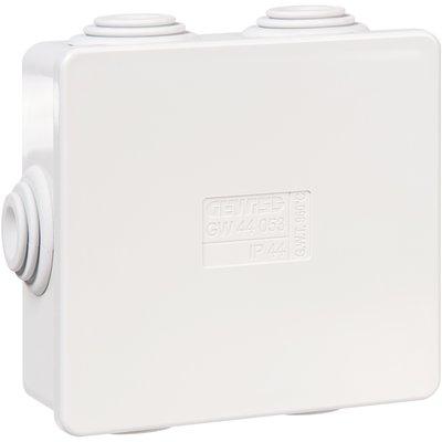 Boîte de dérivation GW44 - Avec passe-fils - Couvercle bas à pression
