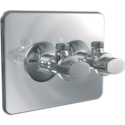 Cache-trou Robifix® - Avec robinet Watts