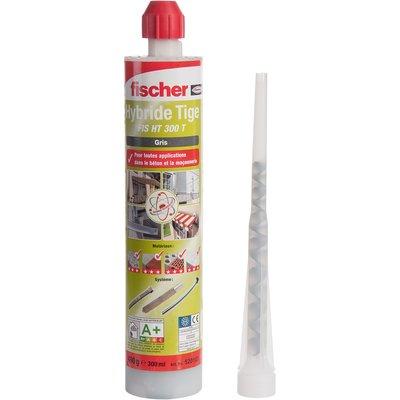 Résine de scellement hybride grise - 300 ml - FIS HT - Fischer