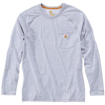 T-Shirt bleu manches longues - Force - Carhartt - XXL