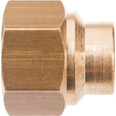 Manchon droit à souder - Laiton - Femelle - 270GCU