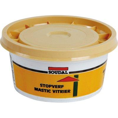 Mastic à base de lin - 500 g - Mastic vitrier - Soudal