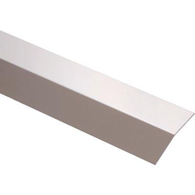 Bande de seuil Plié - Longueur 2 m - Inox brillant - Duval