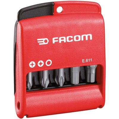 Jeu d'embouts mixte - 50 mm - Coffret de 10 pièces - Facom