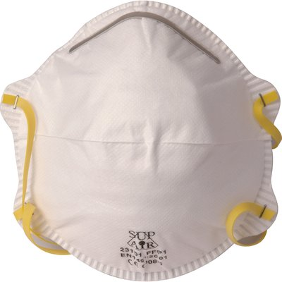 Masque anti poussière sans soupape FFP1 - Vendu par 20 - Sup air