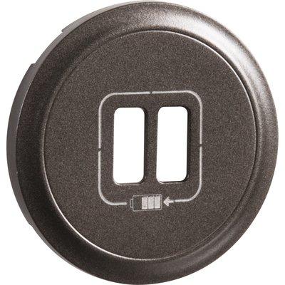 Enjoliveur de prise chargeur USB - Double