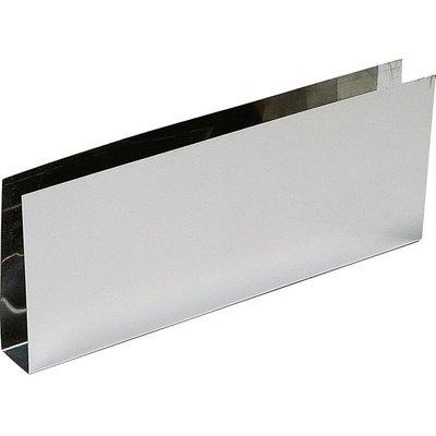 Plinthe bas de porte nox brillant - En U - 930 x 150 mm - Duval
