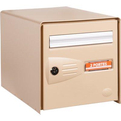 Boîte aux lettres beige double face - Master Box - Decayeux