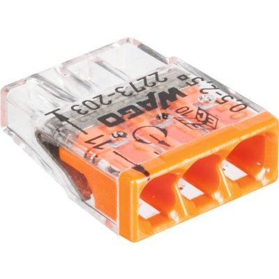 Borne de connexion Série 2273 - Fil rigide - Section 0,5-2,5 mm²