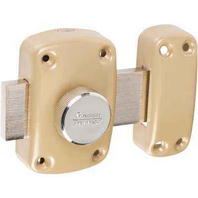 Verrou à bouton seul 766 V Cyclop - Bronze