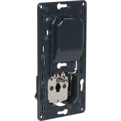 Prise 2P+T Céliane - Spéciale rénovation - Avec chargeur universel USB simp