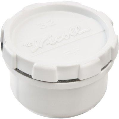 Bouchon de visite PVC blanc - Ø 50 mm - Nicoll