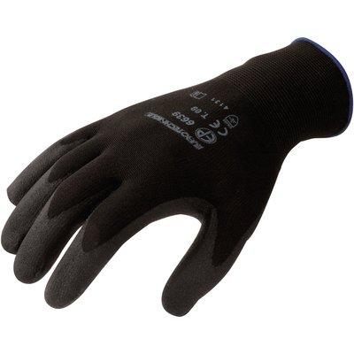 Gant polyester noir - La paire - Eurotechnique - 10