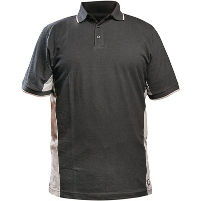 Polo gris / noir - Two tone - Dickies - L