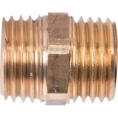 "Raccord laiton droit à visser - M 1/2"" - 280G - Thermador"
