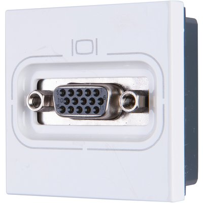 Prise HD Mosaic - À visser - 2 modules