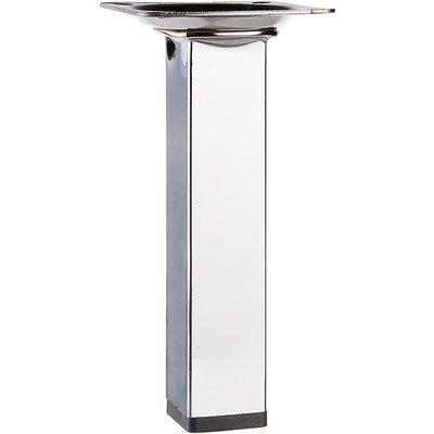 Pied carré en acier de table