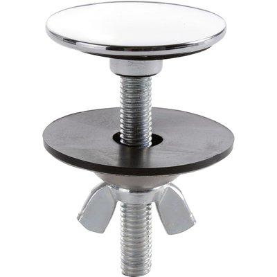 Cache trou inox chromé - Ø 44 mm - Nicoll