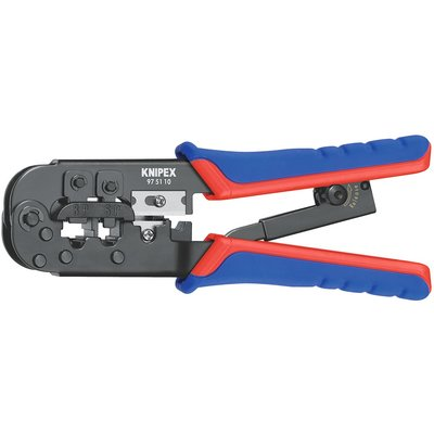 Pince à sertir Knipex - pour fiches Western type RJ 11/12/45