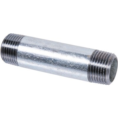 "Raccord fonte galva droit à visser - M 1"" - 60 mm - Raccorderie metalliche"