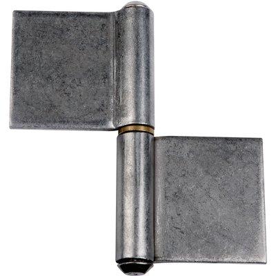 Paumelle de grille - 102 x 100 mm - Lames dans l'axe - Monin