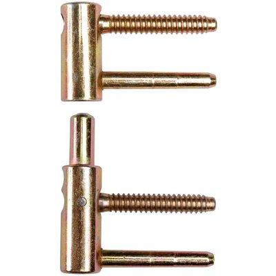 Fiche réglable Exacta - 4 broches - Hauteur de 79,5 à 82,5 mm