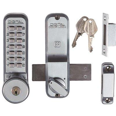 Verrou à code et clé en applique 2200CS - Unitecnic