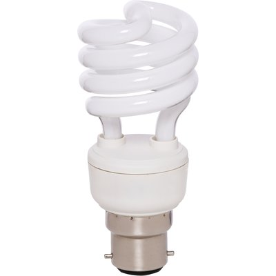 Ampoule Spirale T2 - B22 - 15 W - General electric
