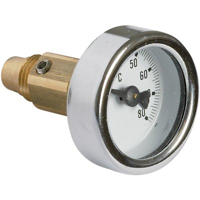 Thermomètre - Vanne thermostatique danfoss MTCV - Danfoss