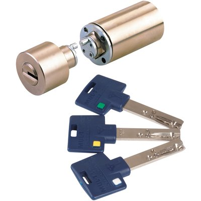 Cylindre rond bronze - 30 x 45 mm - Interactive + - Mul-T-lock