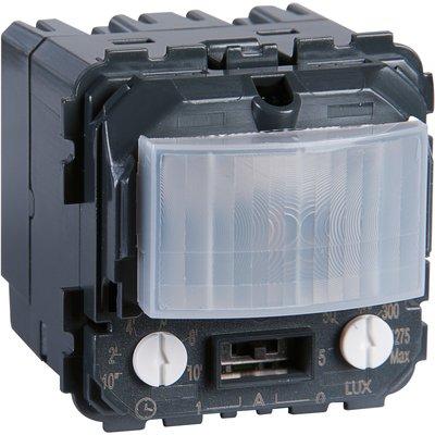 Éco-détecteur de mouvement Céliane - 2 fils - Sans neutre - Avec ou sans dé