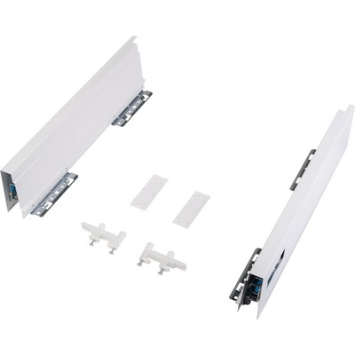 Paire de côtés de tiroir Atira H 70 blanc