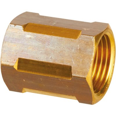"Raccord laiton hexagonal à visser - F 1""1/2 - Ravani"