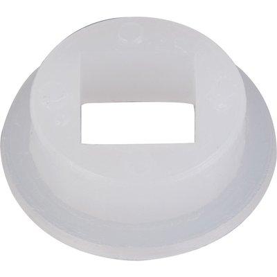 Portée carrée pour poignée de porte - Nylon