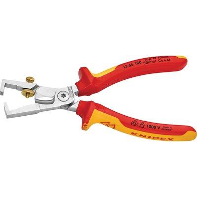 Pince à dénuder avec coupe-câble StriX Knipex - Isolé